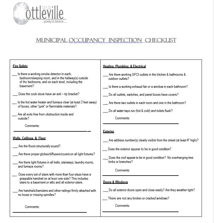 Forms Permits And Licenses City Of Cottleville